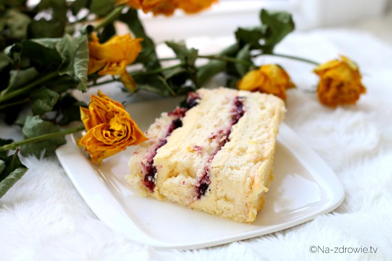 tort cytrynowo-porzeczkowy