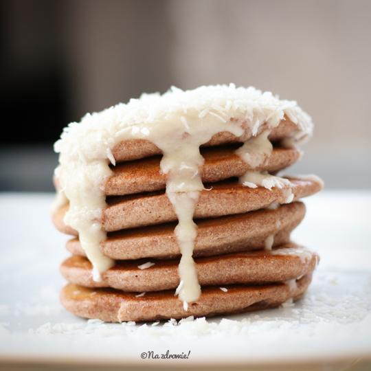 Ryżowo-gryczane pancakes